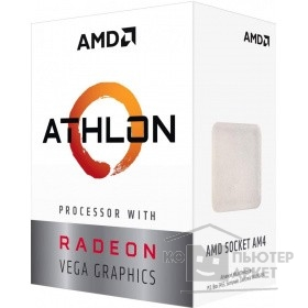 Процессор CPU AMD Athlon 200GE AM4 (BOX)