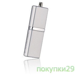 Носитель информации USB 2.0 Silicon Power USB Drive 8Gb, Luxmini 710 SP008GBUF2710V1S, Silver