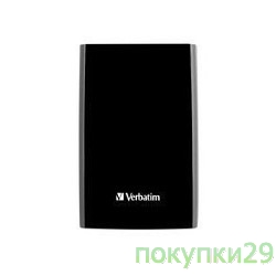носители информации HDD 500Gb Verbatim USB3.0 Portable HDD 53029 Black