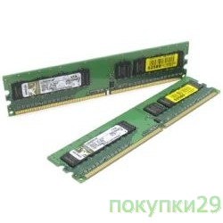 Модуль памяти Kingston DDR-II 1GB (PC2-6400) 800MHz KVR800D2N6-1G
