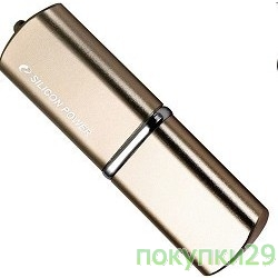 Носитель информации USB 2.0 Silicon Power USB Drive 16Gb, Luxmini 720 SP016GBUF2720V1Z, Bronze