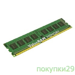 Модуль памяти Kingston DDR-III 8GB (PC3-12800) 1600MHz KVR16N11/8