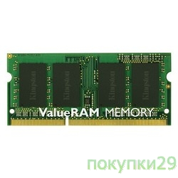 Модуль памяти Kingston DDR3-1600 4GB SO-DIMM KVR16S11S8/4