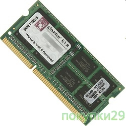 Модуль памяти Kingston DDR3-1600 8GB SO-DIMM KVR16S11S8/8