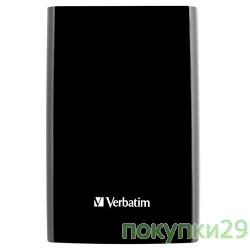 "носители информации HDD 1Tb Verbatim USB3.0, 2.5""53023 Black"