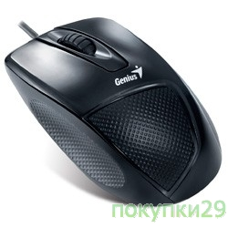 "Манипулятор ""мышь"" Genius DX-150, оптическая, 1200 dpi, 3 кнопки, USB, black, Color box"