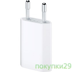 APPLE iPodплееры MD813ZM/A Apple USB Power Adapter (only Apple 5W USB Power Adapter)