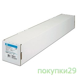 Фотобумага  Q1445A HP  Roll 594mm Bright White Inkjet Paper 90g/sq.m