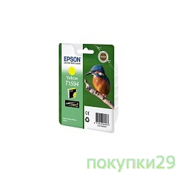 Картридж C13T15944010 EPSON T1594 для Stylus Photo R2000 (yellow)