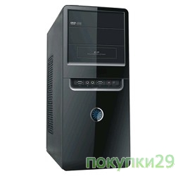 Корпус MiniTower Fox 2801-BS 450W
