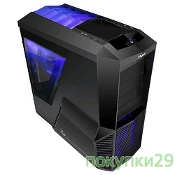 Корпус MidiTower Zalman Z11 PLUS Black БезБП ATX