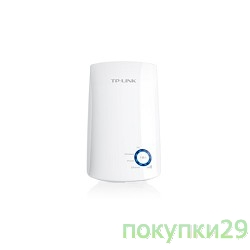 Сетевое оборудование Tp-link TL-WA850RE 300Mbps WiFi Range Extender/Entertainment Adapter, Atheros, 2T2R, 2.4GHz, 802.11n/g/b, Ranger Extender button, Range extender mode, with internal Antennas, support IGMP for IPTV