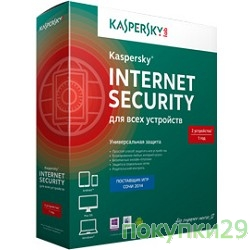 Коробочное программное обеспечение KL1941RBEFS Kaspersky Internet Security Multi-Device Russian Edition. 5-Device 1 year Base Box
