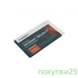 Коробочное программное обеспечение KL1941ROEFR Kaspersky Internet Security Multi-Device Russian Edition. 5-Device 1 year Renewal Card
