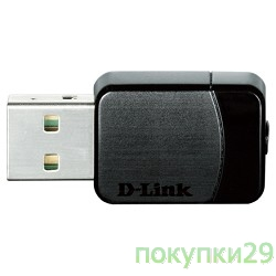 Сетевое оборудование D-Link DWA-171/RU/A1A Wireless AC Dual Band USB Adapter