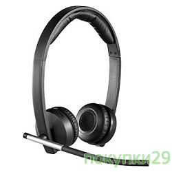 Наушники, микрофоны 981-000517 Logitech Wireless Headset H820E Dual OEM