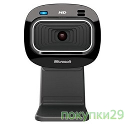Цифровая камера Microsoft LifeCam HD-3000, USB 2.0, 1280*720, автофокус, Mic, Black T3H-00013