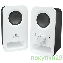 Колонки 980-000815 Колонки Logitech Z-150, Speakers, snow white
