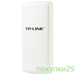 Сетевое оборудование TP-Link TL-WA7210N Outdoor 2.4GHz 150Mbps High power Wireless Access Point, WISP Client Router, up to 27dBm, Atheros, 2.4Ghz 802.11b/g/n, High Sensitivity, Integrated 12dBi directional antenna, Weathe