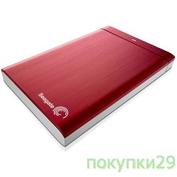 "Носитель информации HDD Seagate  1Tb 2.5""Backup Plus STDR1000203, USB 3.0, red"