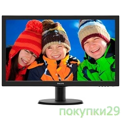 Монитор LCD PHILIPS  243V5LSB(00/01)