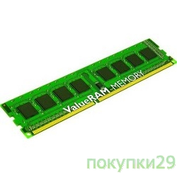Модуль памяти Kingston DDR-III 4GB (PC3-12800) 1600MHz KVR16LN11/4 1.35V