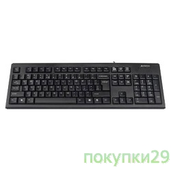 Клавиатура Keyboard  A4tech KR-83 black USB, проводная USB, 104 клавиши