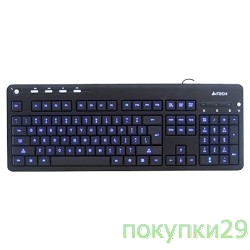 Клавиатура Keyboard  A4Tech KD-126-1 USB (Черный)