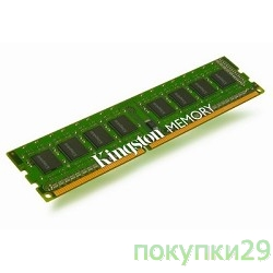 Модуль памяти Kingston DDR3 2GB (PC3-12800) 1600MHz KVR16N11S6/2