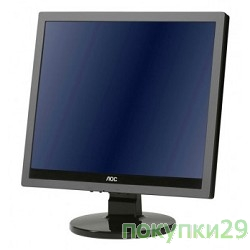 "Монитор AOC 17""e719sda/01 Silver-Black TN LED 5ms 5:4 DVI M/M 20M:1 250cd"