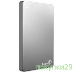 "HDD Seagate  2Tb 2.5""Backup Plus STDR2000201, USB 3.0, silver"