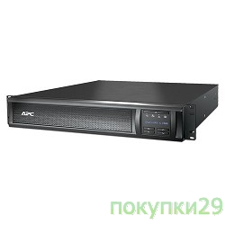 ИБП APC SMX1500RMI2U Smart-UPS X 1500VA Rack/Tower LCD 230V
